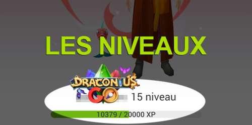 Les niveaux dans Draconius Go
