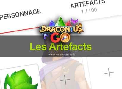 Les artefacts dans Draconius Go