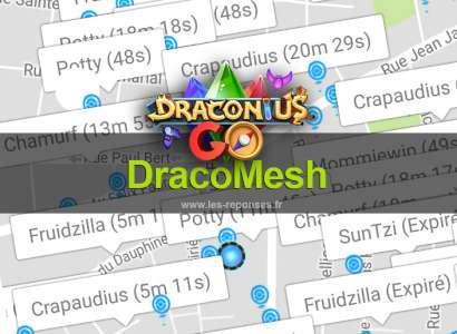 DracoMesh : radar Draconius Go (map Android)