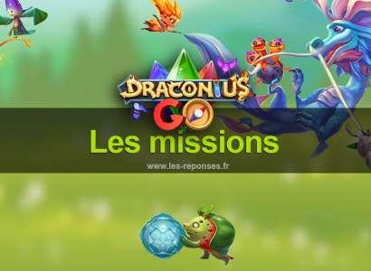 Les missions dans Draconius Go (quêtes)
