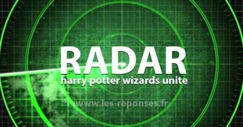 Map et radar Harry Potter Wizards unite