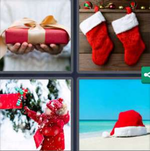 Solution 4 Images 1 mot 10 décembre 2020 (énigme journalière Noël)