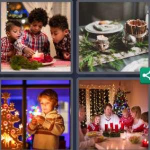 Solution 4 Images 1 mot 11 décembre 2020 (énigme journalière Noël)