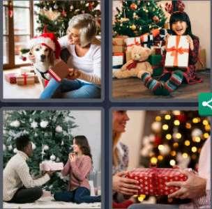 Solution 4 Images 1 mot 25 décembre 2020 (énigme journalière Noël)