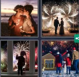 Solution 4 Images 1 mot 31 décembre 2020 (énigme journalière Noël)