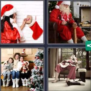 Solution 4 Images 1 mot 6 décembre 2020 (énigme journalière Noël)