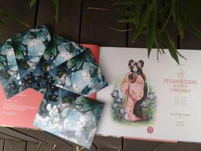 Une carte postale offerte avec Issunbôshi