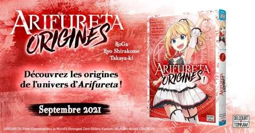 Arifureta Origines chez Delcourt/Tonkam