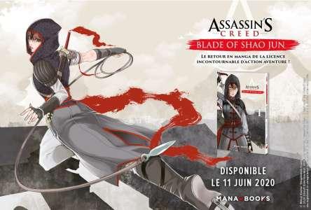 Assassin's Creed : Blade of Shao Jun chez Mana Books