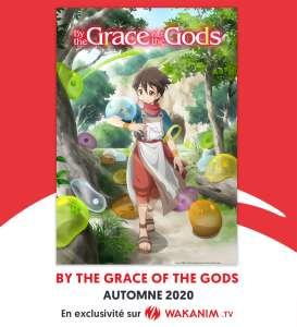 Un premier teaser pour l'animé By The Grace of the Gods !