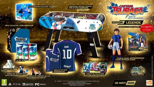 Un trailer et une date de sortie pour le jeu Captain Tsubasa Rise of New Champions !