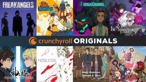 Crunchyroll dévoile ses premiers Crunchyroll Originals !