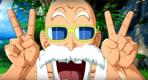 Tortue Géniale débarque dans le jeu de combat Dragon Ball FighterZ !