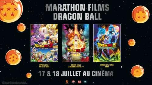 Les films Dragon Ball de retour au cinéma cet été !