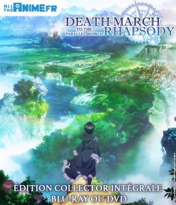 L'animé Death March to the Parellel World Rhapsody arrive en collector DVD et blu-ray !