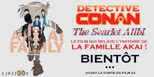 Le film Détective Conan : The Scarlet Alibi au cinéma en France bientôt !
