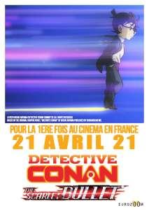 Un nouveau trailer pour le film d'animation Détective Conan : The Scarlet Bullet !