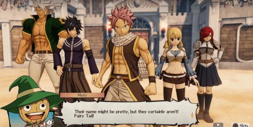 Un gros trailer de gameplay pour le jeu Fairy Tail !