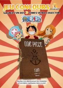 Le jeu concours One Piece 99 collector est lancé !