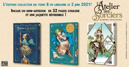 Découvrez l'édition collector du tome 8 du manga L'Atelier des Sorciers !