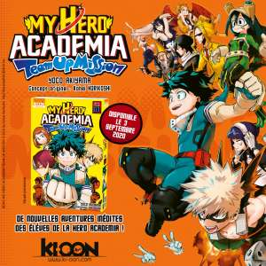 My Hero Academia Team Up Mission chez Ki-oon