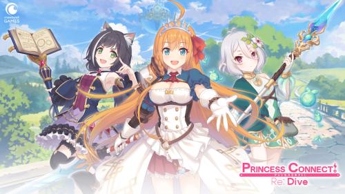 Le jeu mobile Princess Connect Re:Dive arrive bientôt en France !