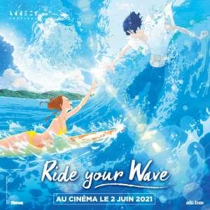 Le film d'animation Ride Your Wave au cinéma en France cet été !