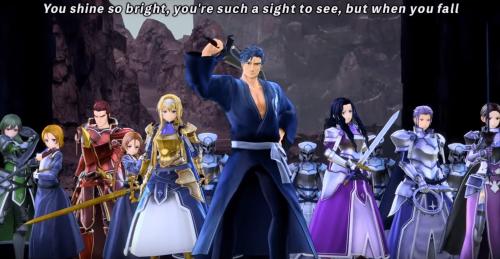 Un nouveau character trailer pour le jeu Sword Art Online Alicization Lycoris !