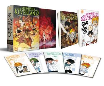 Kazé dévoile un coffret collector pour le tome 16 de The Promised Neverland !