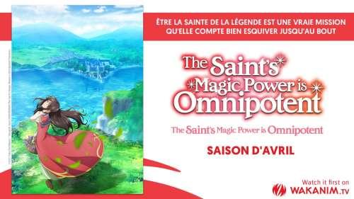 L'animé The Saint's Magic Power is Omnipotent en simulcast sur Wakanim !