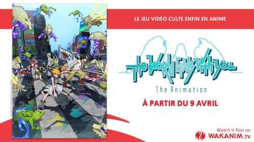 L'animé The World Ends With With You en simulcast ce printemps sur Wakanim !