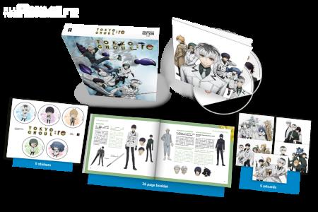 Une édition collector pour la sortie physique de l'animé Tokyo Ghoul:re