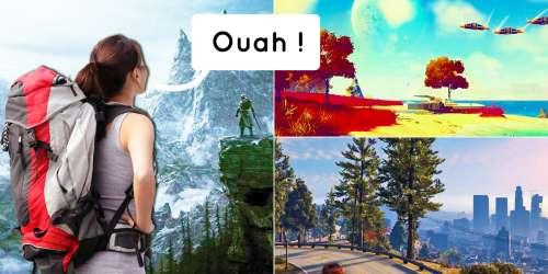 Ces superbes univers tirés de jeux vidéo dans lesquels on voudrait voyager