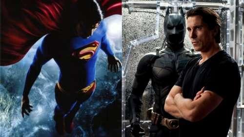 Christian Bale  : avant d'incarner Batman, il a failli jouer Superman !