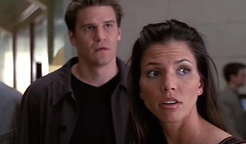 La star d'Angel et Buffy, David Boreanaz, apporte son soutien à Charisma Carpenter