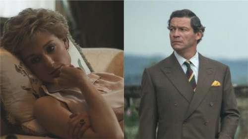 The Crown : Les premières images d'Elizabeth Debicki et Dominic West en Diana et Charles