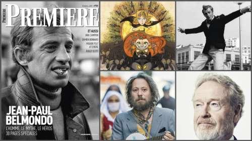 Sommaire de Première n°522 : Un numéro spécial en hommage à Jean-Paul Belmondo