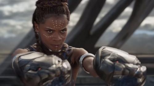 Letitia Wright a fait de la propagande antivax sur le tournage de Black Panther 2
