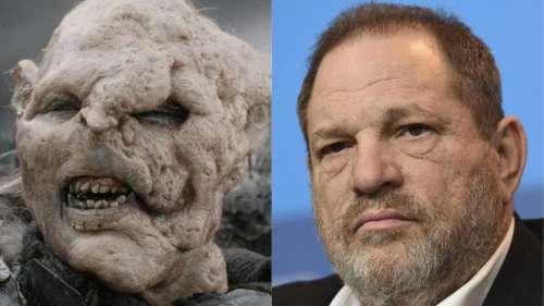 Le look d'un Orc du Seigneur des Anneaux a été inspiré par… Harvey Weinstein