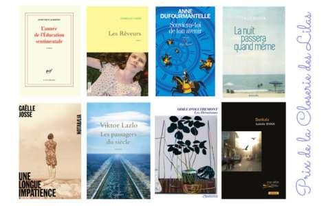 Huit romans pour la première sélection du prix de la Closerie des Lilas 2018