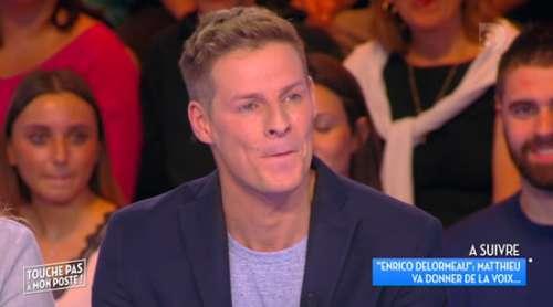 TPMP : Matthieu Delormeau s'explique sur sa longue absence et confirme son retour