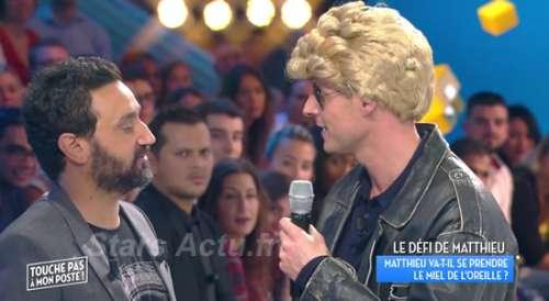 TPMP : Absent du prime, Matthieu Delormeau chante du Johnny Hallyday en direct |VIDEO|