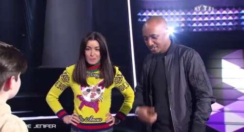The Voice Kids Apres La Robe Le Pull Chaton De Jenifer Moque Sur Twitter Video Sur Buzz Insolite Et Culture