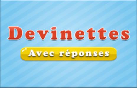 Solution pour Devinettes en Français