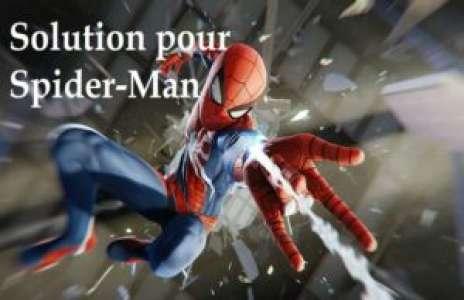 Solution pour Spider-Man: nouvelle génération