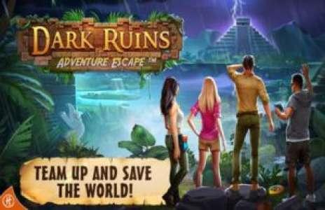 Solution pour Adventure Escape Dark Ruins