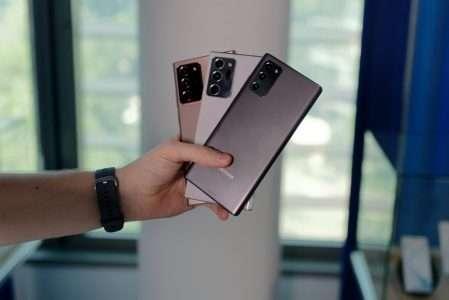 Samsung renouvelle le nom de ses gammes à l'exception des Galaxy Note