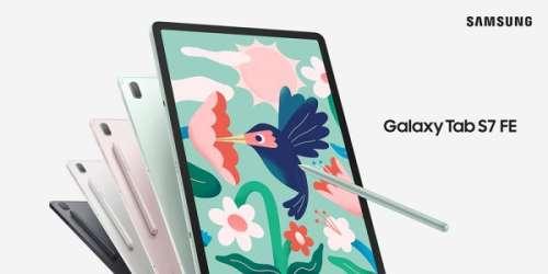 Samsung dévoile les Galaxy Tab S7 FE et Galaxy Tab A7 Lite