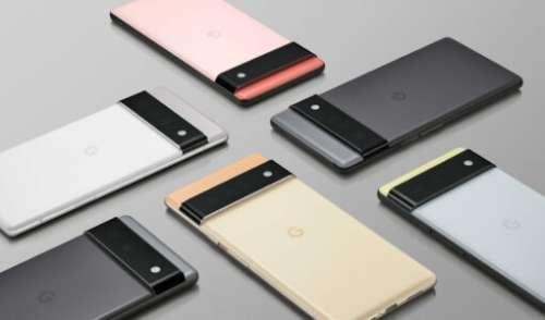Google Pixel 6 et 6 Pro : les smartphones seraient disponibles fin octobre