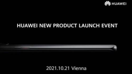 Huawei planifie son retour en Europe pour le 21 octobre prochain